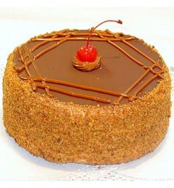 Торт с вишнями