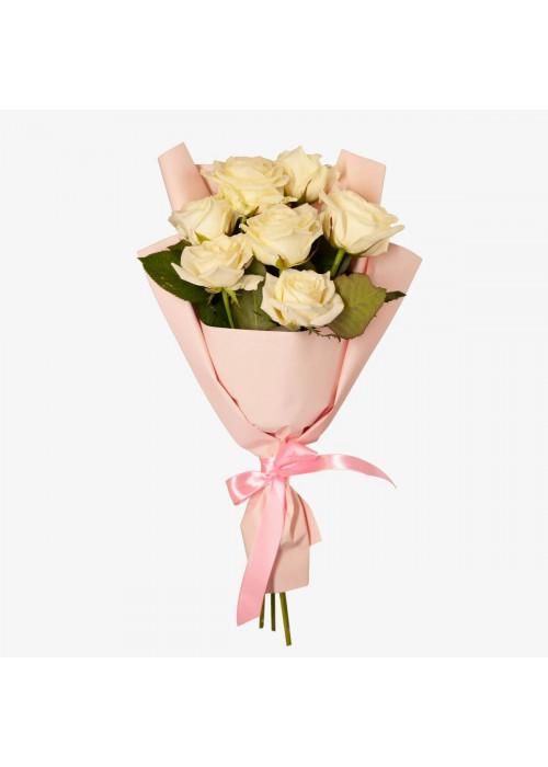 """Букет из 7 роз """"Казахстан"""""""