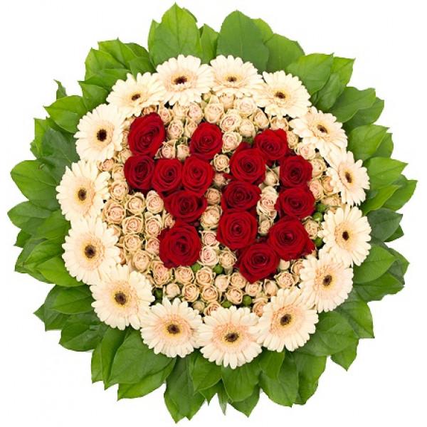Цветы на 55 лет женщине купить